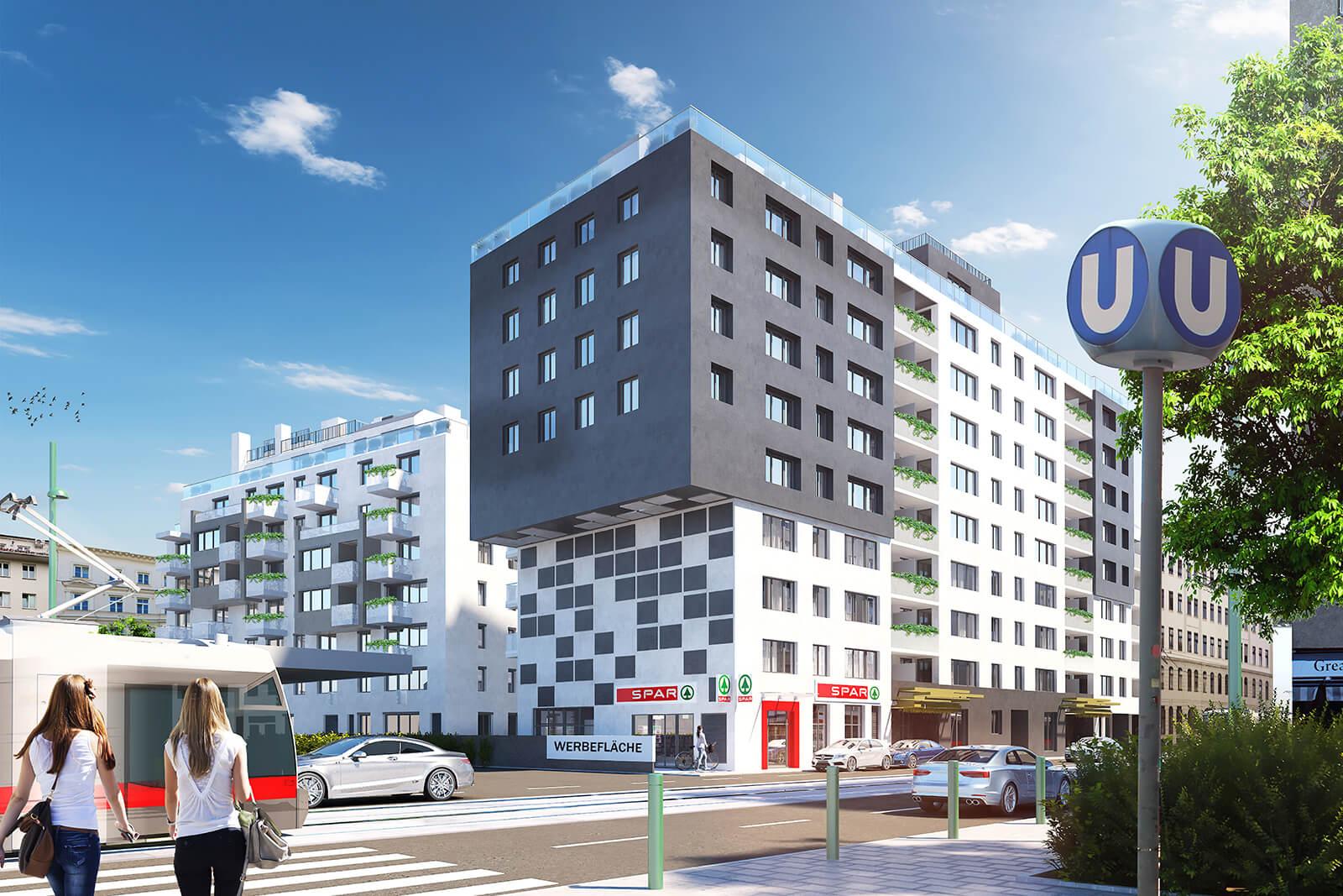 Jägerstraße 58 Außenansicht