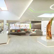 Ärztezentrum Eingangsbereich und Lobby