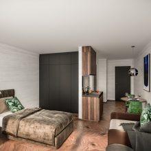 Komfortfertige Wohnung Stadtvilla 1  Eingang 4 Top 102