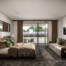 Komfortfertige Wohnung Stadtvilla 1  Eingang 4 Top 301