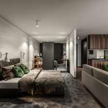 Komfortfertige Wohnung Stadtvilla 1  Eingang 6 Top 106
