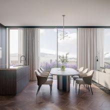 Komfortfertiges Penthouse Stadtvilla 1  Eingang 4 Top 501