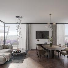 Komfortfertiges Penthouse Stadtvilla 1  Eingang 6 Top 501