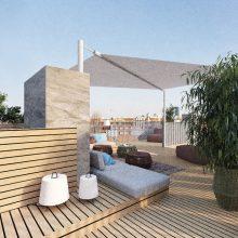 Penthouse Dachterrasse