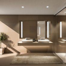 Villa Größe L Badezimmer