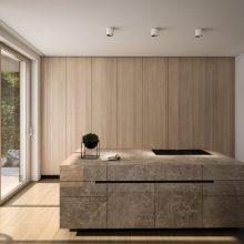Villa Größe L Küche