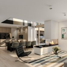 Villa Größe M Wohnraum