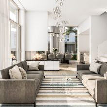 Villa Größe S Wohnraum